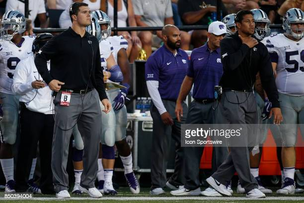 Kansas State Blake Seiler during a college football game between the Vanderbilt Commodores and the Kansas State Wildcats on September 16 2017 at...