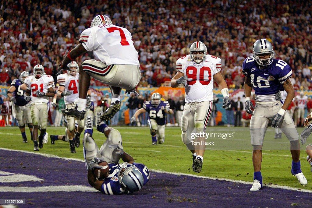 33rd Annual Tostitos Fiesta Bowl - Ohio State vs Kansas State