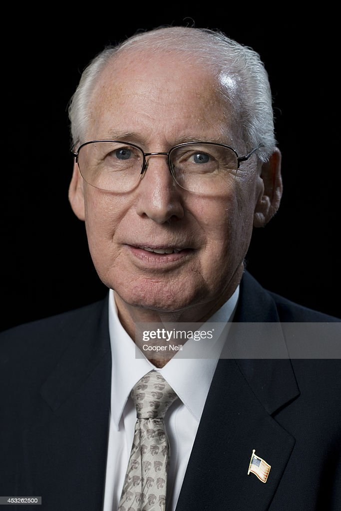 Kansas State head coach <a gi-track='captionPersonalityLinkClicked' href=/galleries/search?phrase=Bill+Snyder+-+American+Football+Coach&family=editorial&specificpeople=15001094 ng-click='$event.stopPropagation()'>Bill Snyder</a> poses for a portrait during the Big 12 Media Day on July 22, 2014 at the Omni Hotel in Dallas, Texas.
