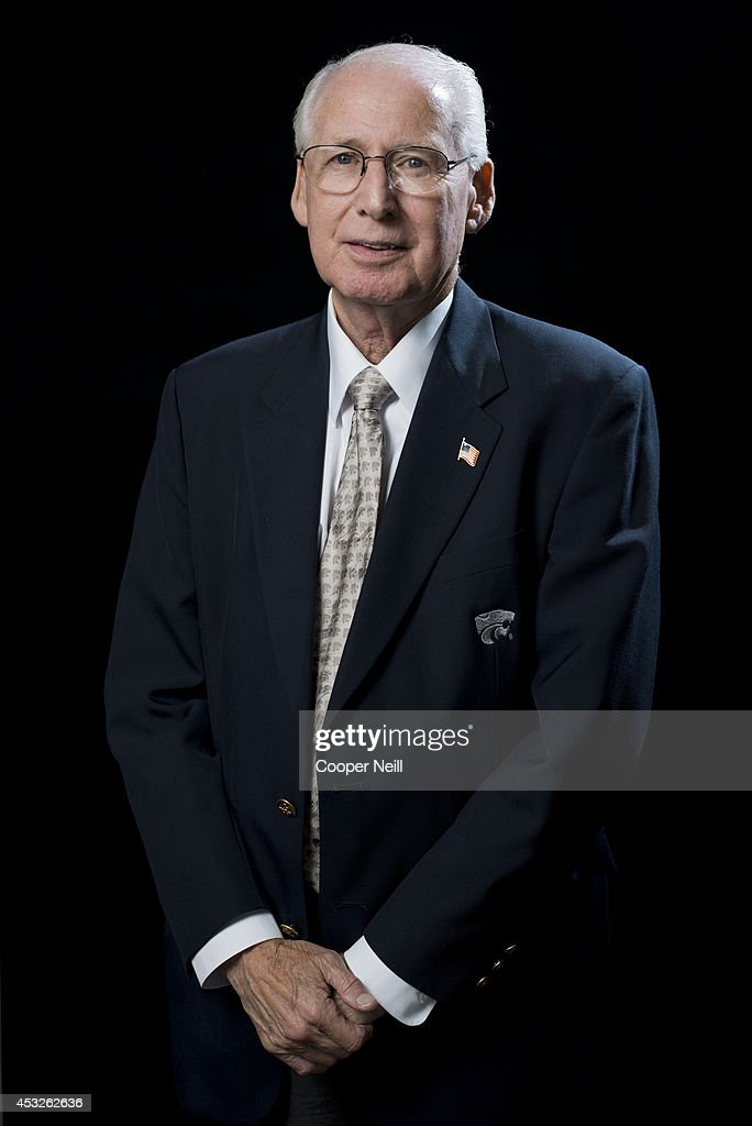 Kansas State head coach Bill Snyder poses for a portrait during the Big 12 Media Day on July 22, 2014 at the Omni Hotel in Dallas, Texas.
