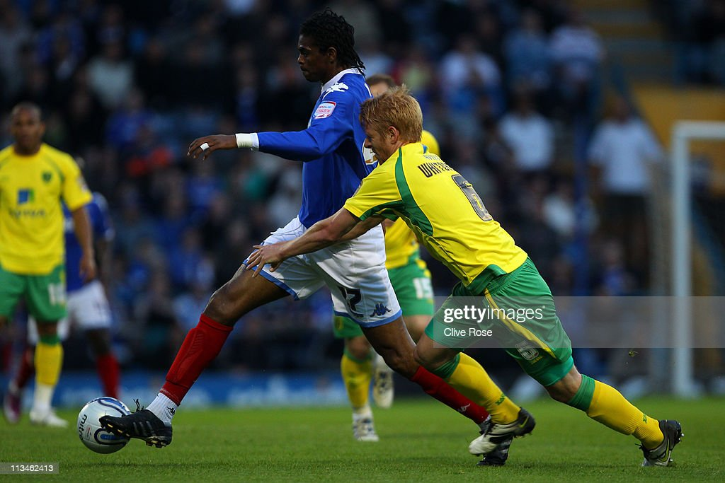 Portsmouth v Norwich City - npower Championship