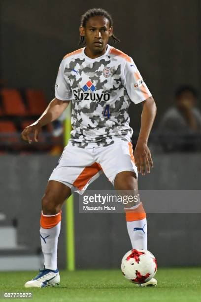 Kanu of Shimizu SPulse in action during the JLeague Levain Cup Group A match between Omiya Ardija and Shimizu SPulse at NACK 5 Stadium Omiya on May...