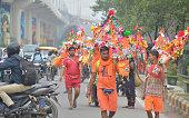 IND: Annual Hindu Pilgrimage Kanwar Yatra