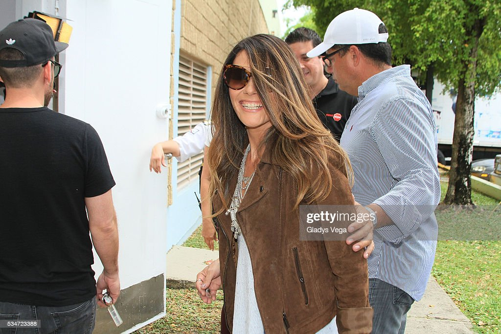 <a gi-track='captionPersonalityLinkClicked' href=/galleries/search?phrase=Kany+Garcia&family=editorial&specificpeople=4529493 ng-click='$event.stopPropagation()'>Kany Garcia</a> arrives on her album signing at Music Stop on May 27, 2016 in San Juan, Puerto Rico.