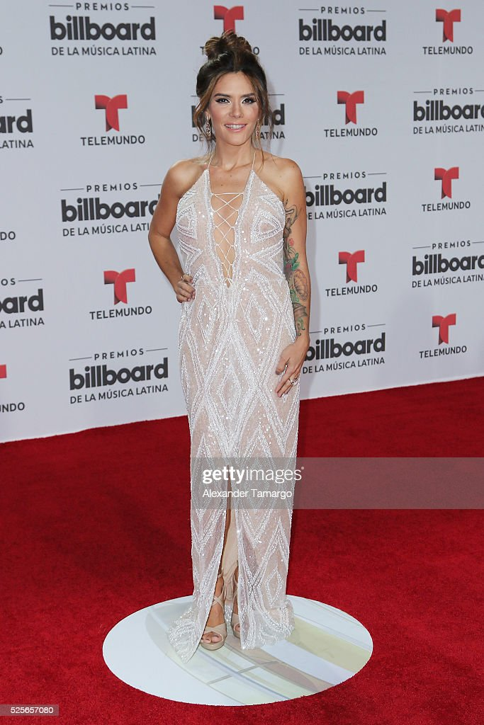 Kany Garcia attends the Billboard Latin Music Awards at Bank United Center on April 28, 2016 in Miami, Florida.