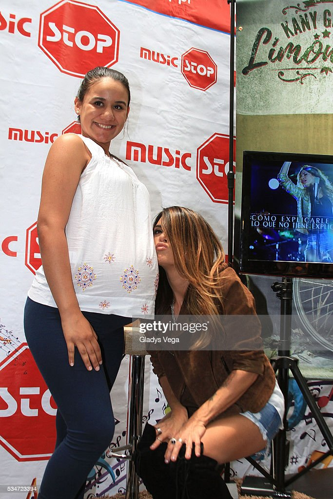 <a gi-track='captionPersonalityLinkClicked' href=/galleries/search?phrase=Kany+Garcia&family=editorial&specificpeople=4529493 ng-click='$event.stopPropagation()'>Kany Garcia</a> participates on album signing at Music Stop on May 27, 2016 in San Juan, Puerto Rico.