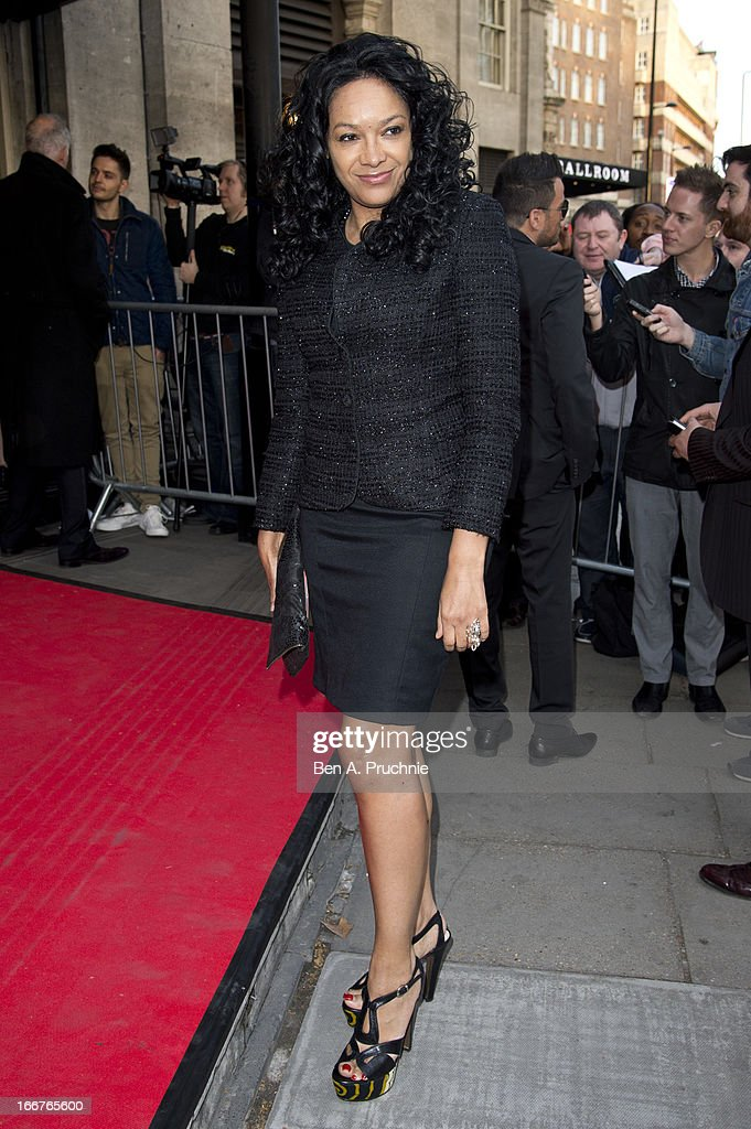 Kanya King attends The Asian Awards at Grosvenor House, on April 16, 2013 in London, England.
