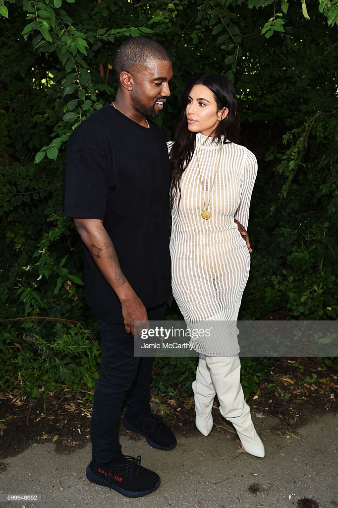 Kanye West Yeezy Season 4 - Front Row/Arrivals