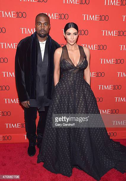 Kanye West and Kim Kardashian West attend TIME 100 Gala TIME's 100 Most Influential People In The World at Frederick P Rose Hall Jazz at Lincoln...