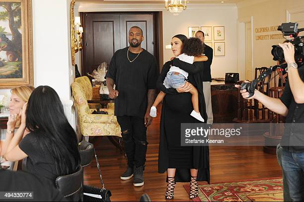 Kanye West and Kim Kardashian West brought some of her biggest fans and app subscribers together for a birthday brunch at the Four Seasons Westlake...
