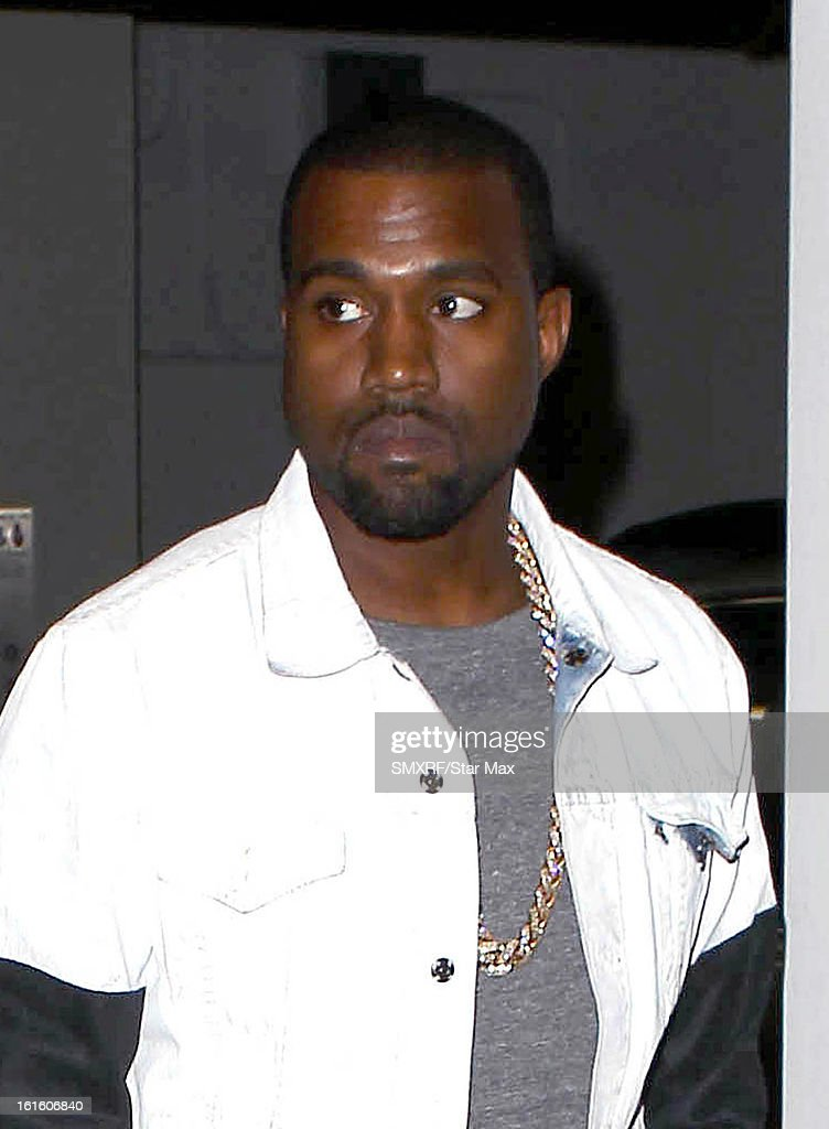 <a gi-track='captionPersonalityLinkClicked' href=/galleries/search?phrase=Kanye+West+-+Musician&family=editorial&specificpeople=201803 ng-click='$event.stopPropagation()'>Kanye West</a> as seen on February 12, 2013 in Los Angeles, California.