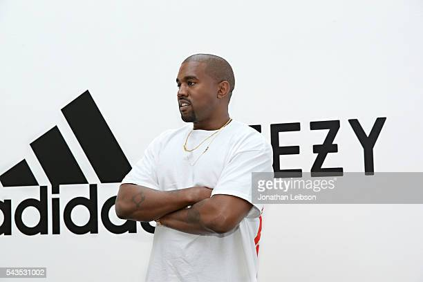 Kanye West at Milk Studios on June 28 2016 in Hollywood California adidas and Kanye West announce the future of their partnership adidas KANYE WEST