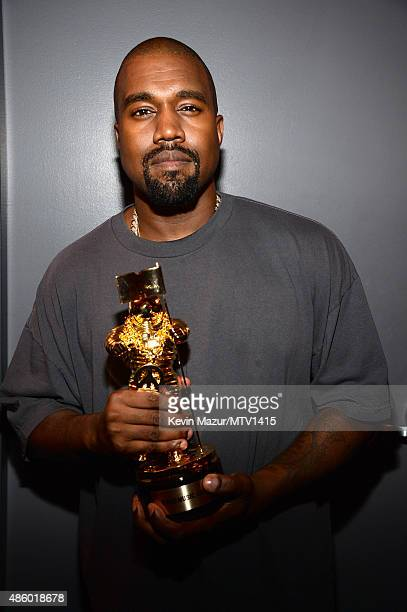 Kanye West attends the 2015 MTV Video Music Awards at Microsoft Theater on August 30 2015 in Los Angeles California