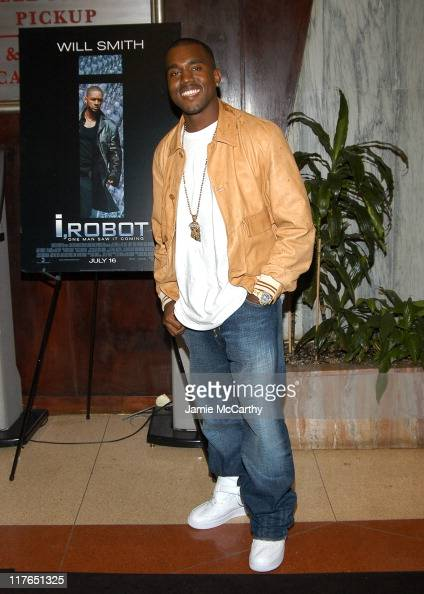 Kanye West during 'I ROBOT' New York Screening Arrivals at The Beekman Theater in New York City New York United States