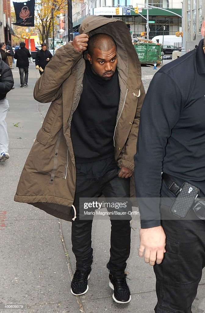 <a gi-track='captionPersonalityLinkClicked' href=/galleries/search?phrase=Kanye+West+-+Musician&family=editorial&specificpeople=201803 ng-click='$event.stopPropagation()'>Kanye West</a> is seen on November 19, 2013 in New York City.