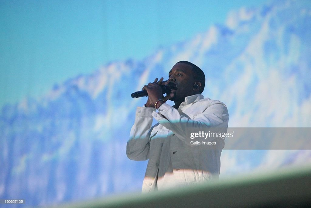 <a gi-track='captionPersonalityLinkClicked' href=/galleries/search?phrase=Kanye+West+-+Musiker&family=editorial&specificpeople=201803 ng-click='$event.stopPropagation()'>Kanye West</a> performing at The Dome on February 2, 2013, in Johannesburg, South Africa.