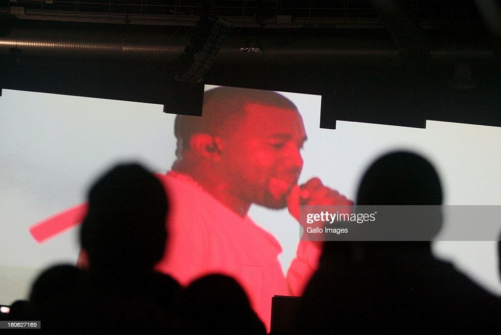 <a gi-track='captionPersonalityLinkClicked' href=/galleries/search?phrase=Kanye+West+-+Muzikant&family=editorial&specificpeople=201803 ng-click='$event.stopPropagation()'>Kanye West</a> performing at The Dome on February 2, 2013, in Johannesburg, South Africa.