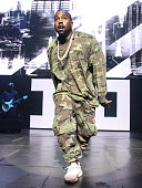 Kanye West performs at The TM 101 10 year Anniversary Concert at The Fox Theater on July 25 2015 in Atlanta Georgia