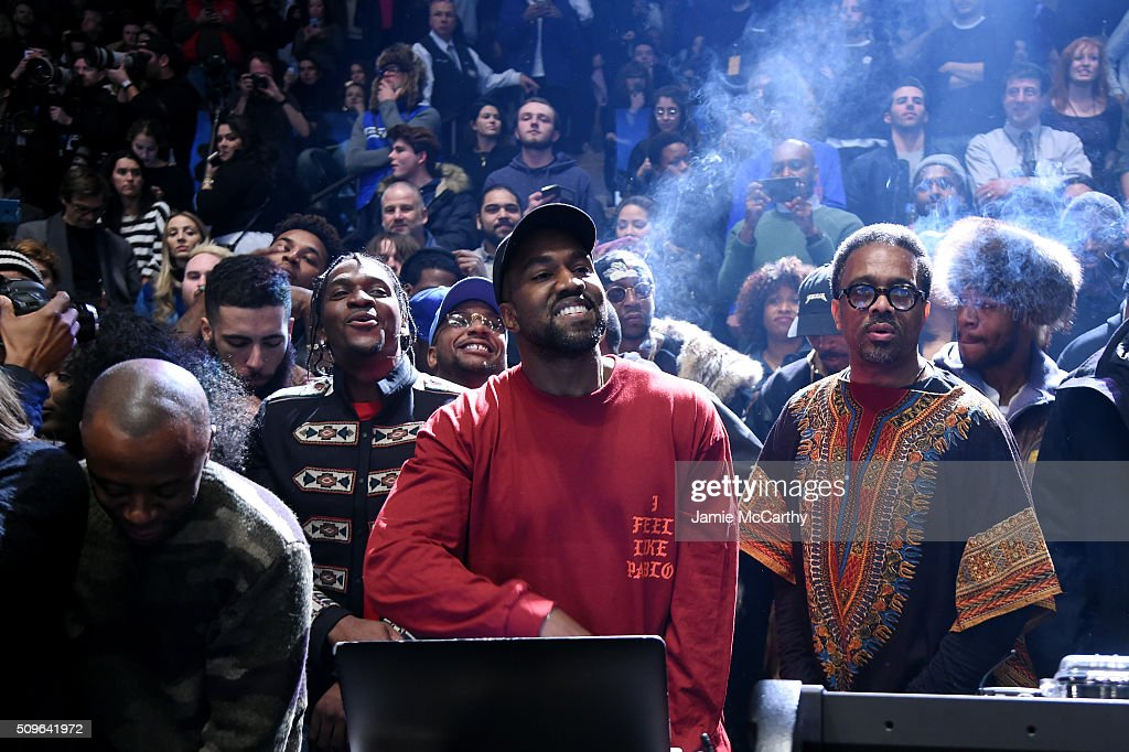 Kanye West performs during Kanye West Yeezy Season 3 on February 11 2016 in New York City