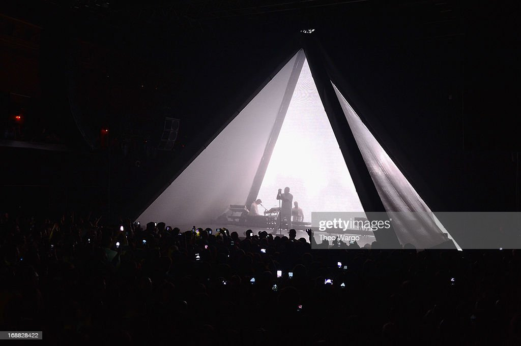 Kanye West performs onstage at the Adult Swim Upfront Party 2013 at Roseland Ballroom on May 15, 2013 in New York City. 23698_002_0223.JPG