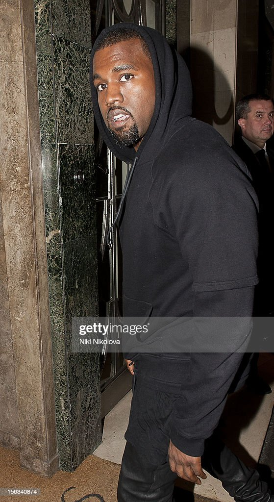 <a gi-track='captionPersonalityLinkClicked' href=/galleries/search?phrase=Kanye+West+-+Musician&family=editorial&specificpeople=201803 ng-click='$event.stopPropagation()'>Kanye West</a> sighting on November 13, 2012 in London, England.