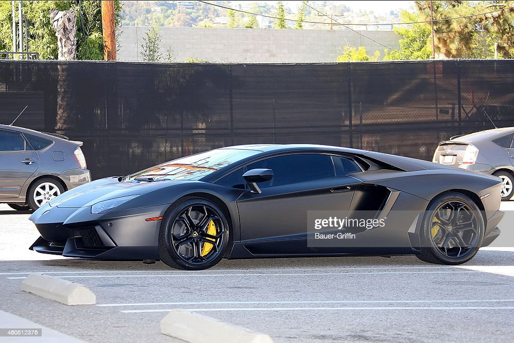 Kanye West`s new car is seen on June 30 2012 in Los Angeles California