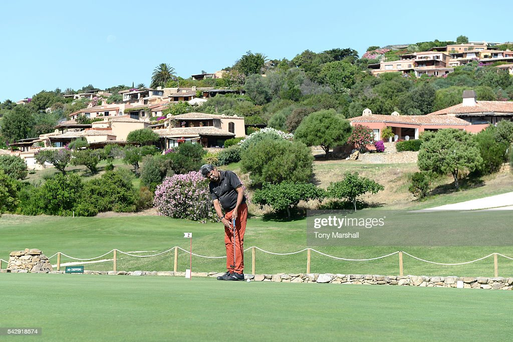 Kapil Dev attends The Costa Smeralda Invitational golf tournament at Pevero Golf Club - Costa Smeralda on June 25, 2016 in Olbia, Italy.