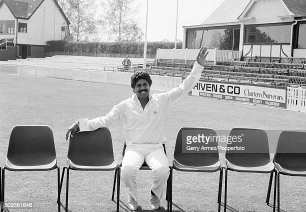 Kapil Dev of India has joined Worcestershire for the 1984 County cricket season and is waiting for his new teammates to join him in the preseason...