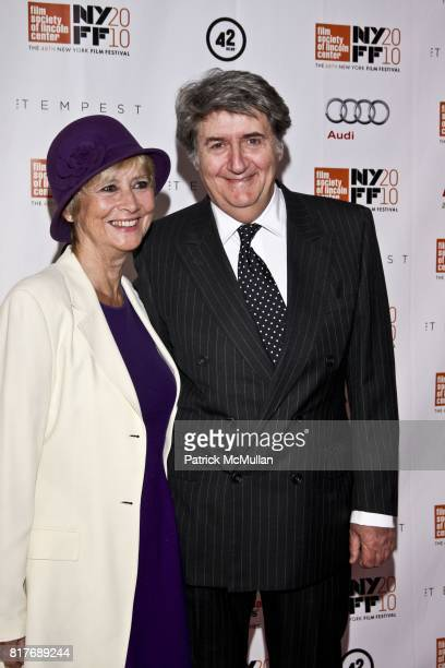Kara Conti and Tom Conti attend THE TEMPEST Premiere The 48th New York Film Festival at Alice Tully Hall on October 2 2010 in New York City