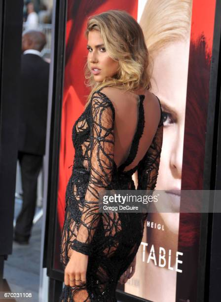 Kara Del Toro arrives at the premiere of Warner Bros Pictures' 'Unforgettable' at TCL Chinese Theatre on April 18 2017 in Hollywood California