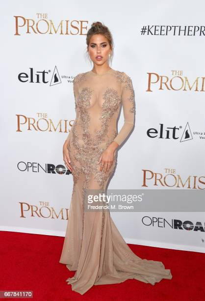 Kara Del Toro attends the premiere of Open Road Films' 'The Promise' at TCL Chinese Theatre on April 12 2017 in Hollywood California