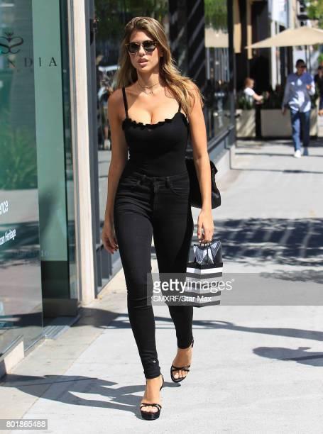 Kara Del Toro is seen on June 26 2017 in Los Angeles California