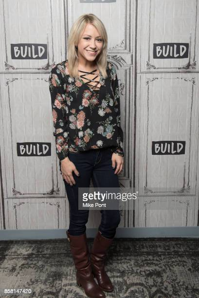 Kara Eberle visits Build Studio to discuss 'RWBY' at Build Studio on October 5 2017 in New York City