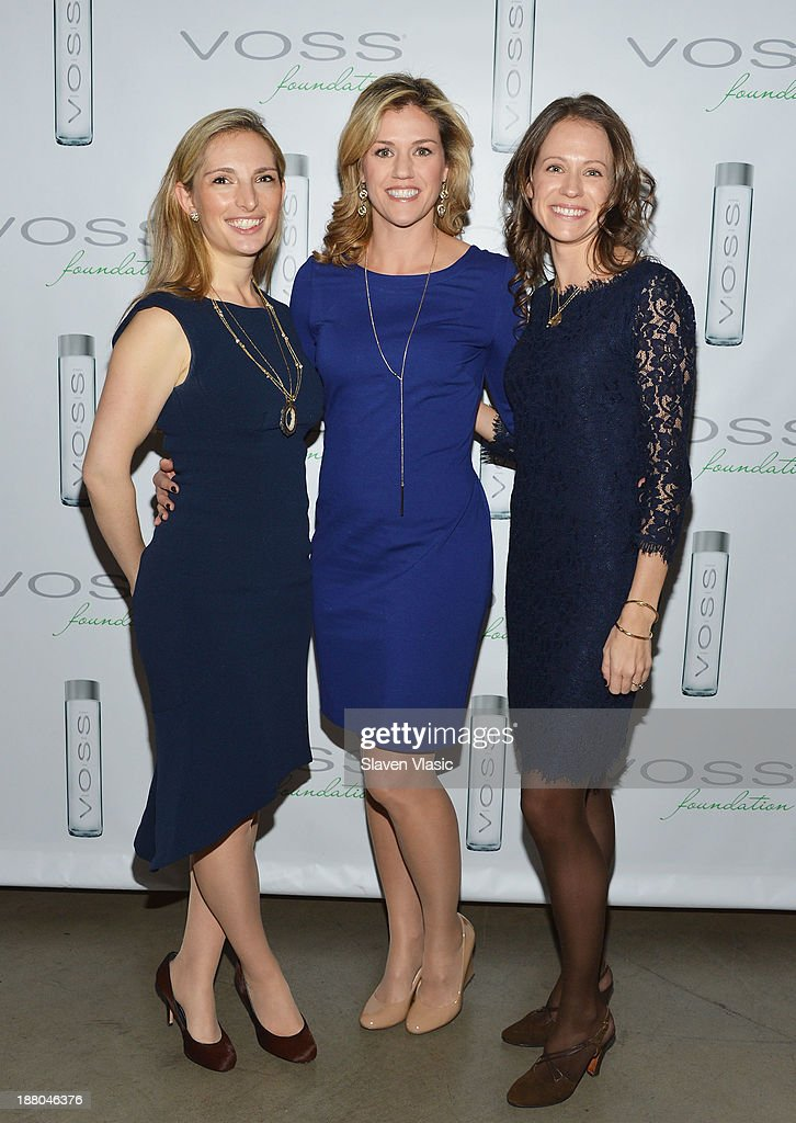 Kara Gerson, Caitlin Rackish and Amy Donahue attend the fourth annual Voss Foundation Women Helping Women New York luncheon at Dream Downtown on November 14, 2013 in New York City.