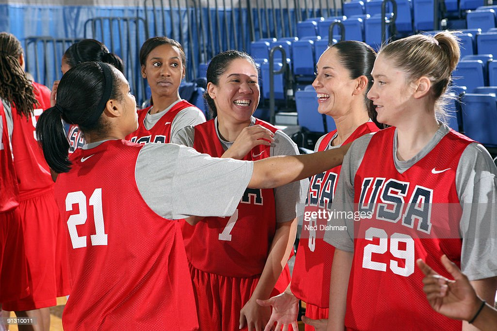 USA Women's Basketball National Team Training Camp