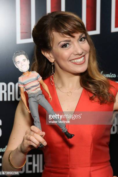 Kara Lindsay attends the Broadway Opening Night performance of 'Bandstand' at the Bernard B Jacobs Theatre on 4/26/2017 in New York City