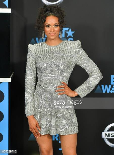 Kara McCullough attends the 2017 BET Awards at Microsoft Theater on June 25 2017 in Los Angeles California