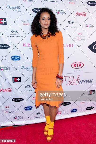 Kara McCullough attends Uncomon James Chinese Laundry By Kristin Cavallari at Bagatelle on September 11 2017 in New York City