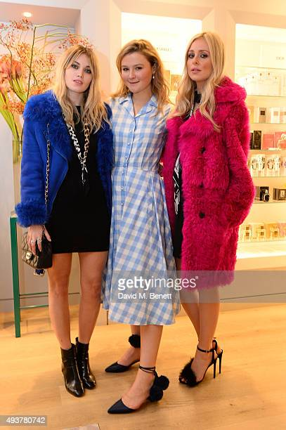 Kara Rose Marshall Amber Atherton and Diana Vickers attend the Phytomone luxury skin care Mothers and Daughters event at Fortnum Mason on October 22...