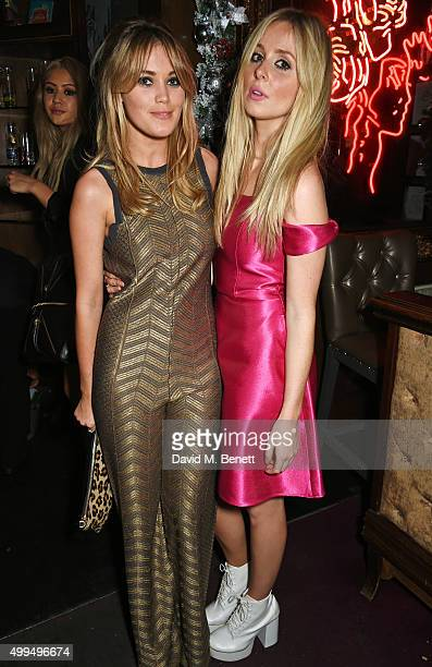 Kara Rose Marshall and Diana Vickers attend the Rockins House Of Hackney Christmas Party sponsored by Ciroc Vodka at The Cuckoo Club on December 1...