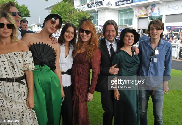 Kara Rose Marshall Dougie Poynter Betty Bachz Sophie Hopkins Charlotte Tilbury Darren Strowger Sadie Frost and Sascha NishikawaBailey attend Ladies...
