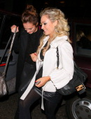 Kara Tointon and Kristina Rihanoff attending Kitch at Embassy night club on December 7 2013 in London England