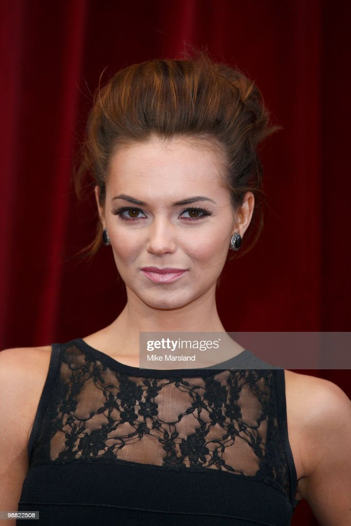 Kara Tointon attends 'An Audience With Michael Buble' at The London Studios on May 3 2010 in London England