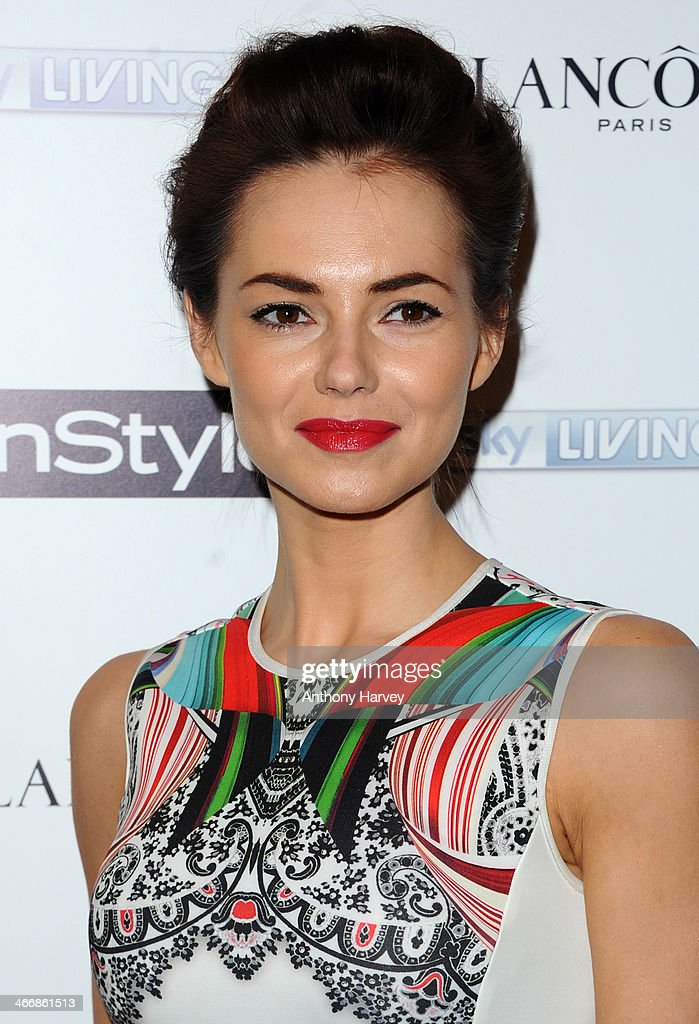 Kara Tointon attends InStyle magazine's The Best of British Talent pre-BAFTA party at Dartmouth House on February 4, 2014 in London, England.