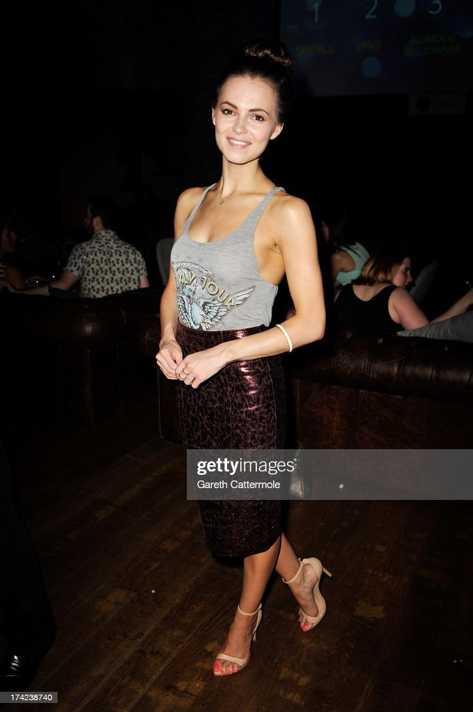 Kara Tointon attends the British Airways Silent Picturehouse launch at Vinopolis on July 22, 2013 in London, England.The pop-up film event shows movies that inspire travel.