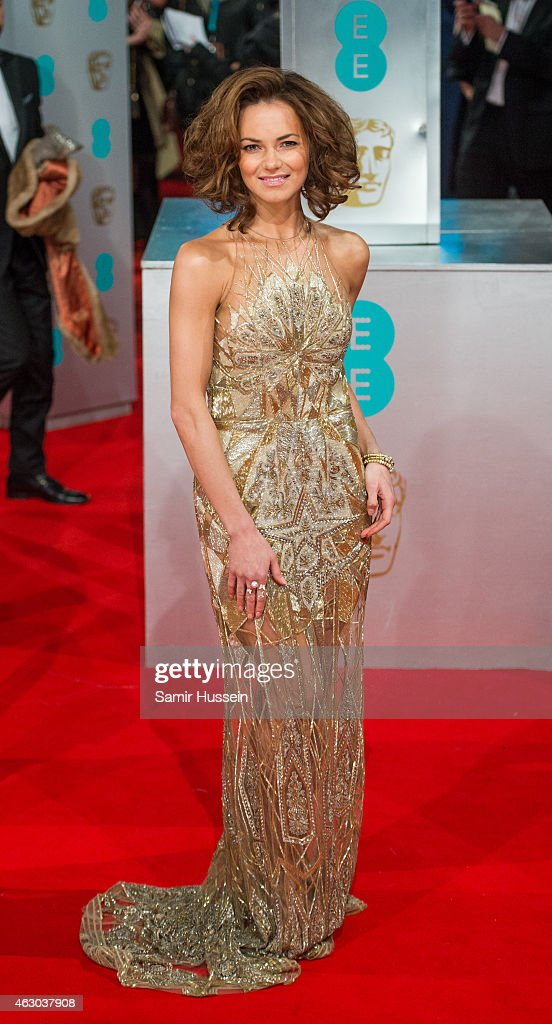 Kara Tointon attends the EE British Academy Film Awards at The Royal Opera House on February 8 2015 in London England