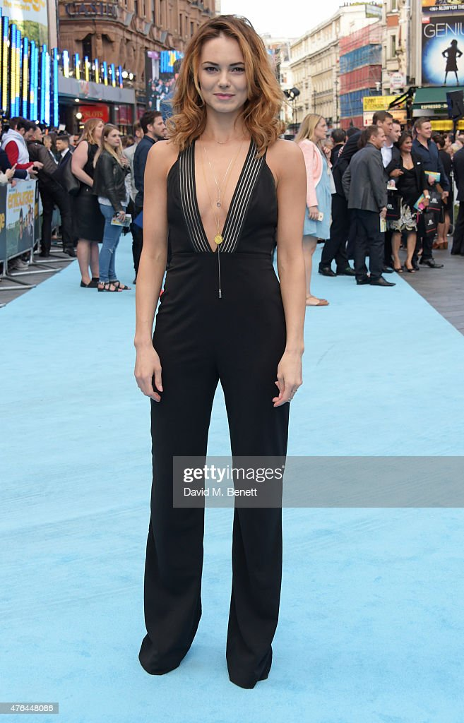 Kara Tointon attends the European Premiere of 'Entourage' at the Vue West End on June 9 2015 in London England