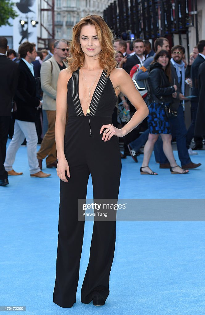 Kara Tointon attends the European Premiere of 'Entourage' at Vue West End on June 9 2015 in London England