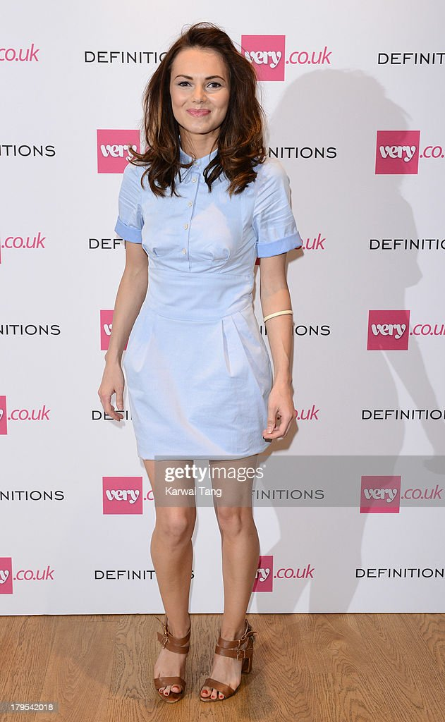 <a gi-track='captionPersonalityLinkClicked' href=/galleries/search?phrase=Kara+Tointon&family=editorial&specificpeople=559464 ng-click='$event.stopPropagation()'>Kara Tointon</a> attends the launch party of very.co.uk's Definitions range at Somerset House on September 4, 2013 in London, England.