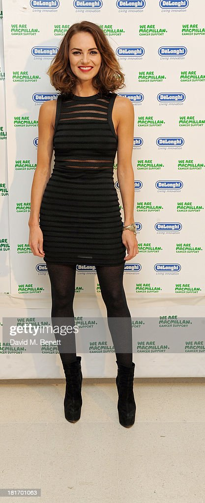 Kara Tointon attends the Macmillan De'Longhi Art Auction at Royal College of Art on September 23, 2013 in London, England.